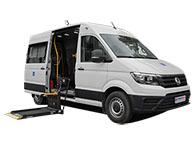 Volkswagen Crafter для перевозки инвалидов колясочников