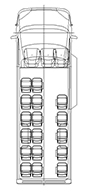 Пассажирский микроавтобус, длина L4. Количество мест: 16+2+1